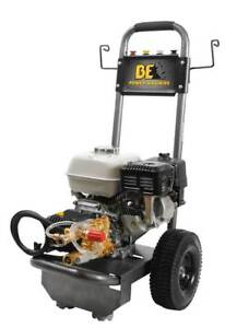 BE B2565HGS Pressure Washer 3 GPM 196cc Honda Gas Cold Water