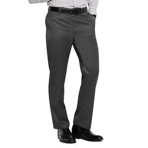 New Marc Anthony Mens Slim Fit Flat Front Dress Pants Gray Size W40xL32 MSRP $70 $28.00