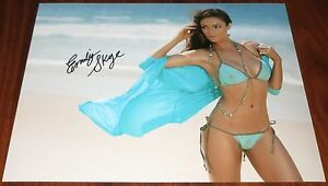 Hot Emily Skye Signed 11x14 Model Fitness Guru Exact Proof