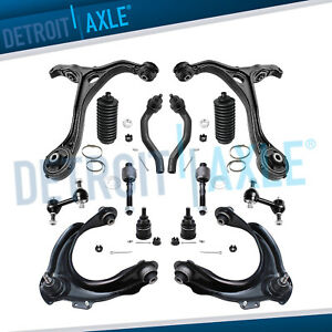 Front upper  lower control arm for 03-07 Honda Accord & Acura TSX 2.4L w tierod
