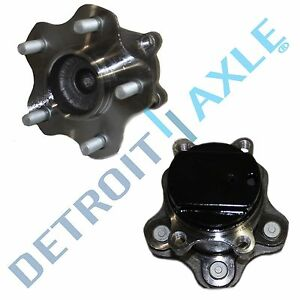 (2) Rear Wheel Hub & Bearing Assembly for 2008 2009 2010 - 2013 Nissan Rogue FWD