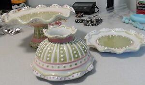 home and garden party 3 piece candy pastry