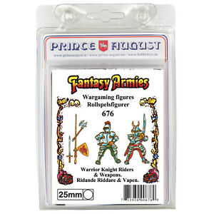 Fantasy Armies Metal Casting Knights 25mm Prince August moulds molds PA676
