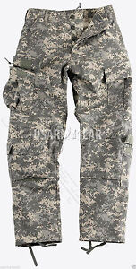 NEW Made in USA Military Army Combat ACU Uniform Cargo  6 Pocket Pants M 32 34