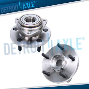 Both 2 Front Wheel Hub Bearing Assembly for 1999 2003 2004 Jeep Grand Cherokee $80.11