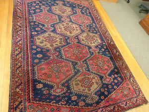 5.4 x 8 Antique Turkish Rug... High Quality Example of Turkish Weaving