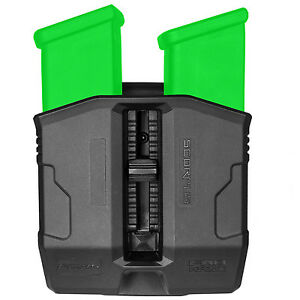 FAB Defense Double Magazine Pouch for Glock 20 21 29 30 36 41 - PG-45