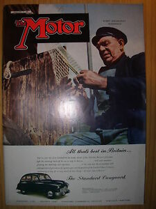 vintage motor magazine january 31 1951 the
