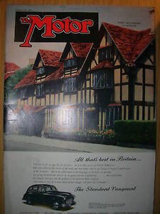 vintage motor magazine march 21 1951 the