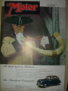vintage motor magazine may 3 1950 the
