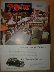 vintage motor magazine may 2 1951 the