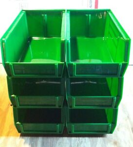 Lot of 6 Reloading Bins Replacement for Dillon 550650 RCBS