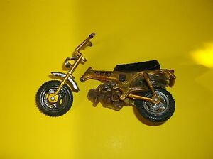 1970 honda trail 70 motorbike scale die cast model