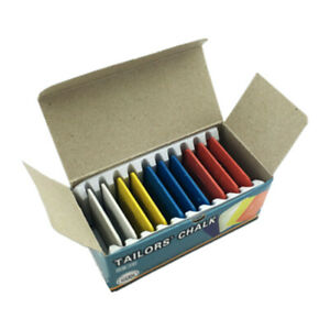 Colorful Tailor#x27;s Fabric Chalk Dressmaker#x27;s Pattern Marking Chalk Sewing Marker $2.46
