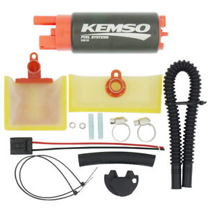 KEMSO 340LPH High Performance Fuel Pump Replace Walbro 255LPH GSS342 #14