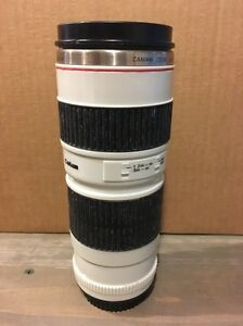 Unique Camera Attachment Lens Look Alike Coffee Cup Drink Container