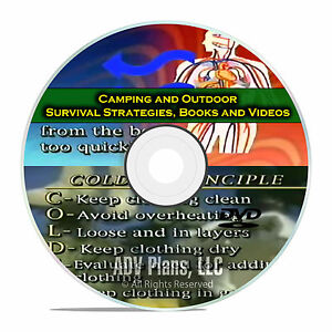 Camping and Survival Guides Wilderness Worst Case Scenario Doomsday DVD E45