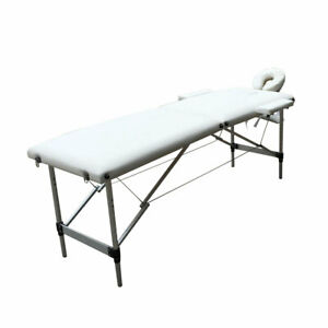 Fold Portable Massage Table Facial SPA Bed with 2 Pillows+Cradle+Sheet