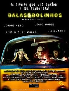 Bullets and Little Cookies NEW PAL Cult DVD Portugal
