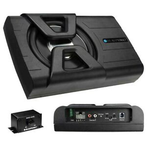 NEW 8 Powered Shallow Subwoofer Speaker.Under Chair.Behind Truck Seat.Boat.ATV $159.00