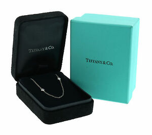Tiffany & Co. Elsa Peretti Diamonds By The Yard Necklace WBox MSRP $5500
