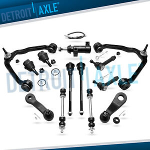 13pc Complete Front Suspension Kit Chevy Suburban Tahoe GMC Yukon 1500  2WD 6Lug