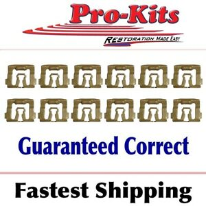 Fits 71 72 73 74 Cuda Barracuda Challenger Windshield Reveal Molding Clips Kit