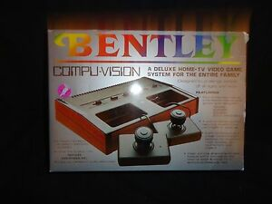 vintage bentley compuvision pong system in