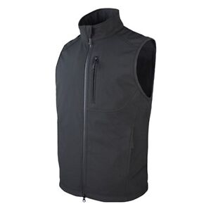 Condor 10616 Black Small Military Wind Proof Winter Weather Core Softshell Vest