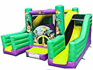 30x25x20 Commercial Inflatable Bounce House Castle Ball Slide Trampoline Combo