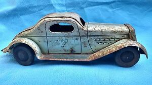 mystery car friction toy 1930s