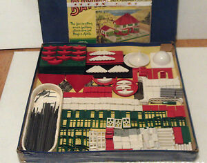 vintage bayko original building set