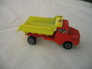 vintage majorette match box die cast scania