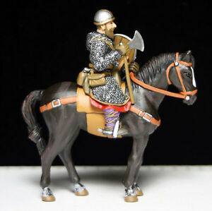 13th century mounted crusader toy soldier