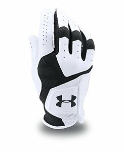 Under Armour Mens Coolswitch Golf Gloves Right Hand MediumLarge WhiteBlack