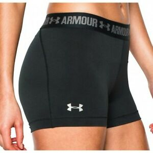 NEW WOMENS UNDER ARMOUR HEATGEAR RUNNING SHORTS  - IN STOCK