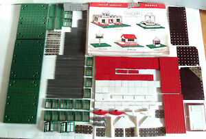 vintage original building sets box of approx