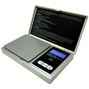 Digital Scale 1000g x 0.1g Jewelry Gold Silver Coin Grain Gram Pocket Size Herb $9.49