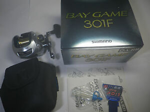 SHIMANO BAY GAME 301F Unused goods! Made in Japan!