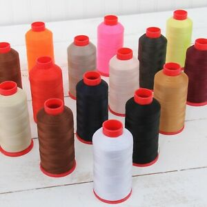 BONDED NYLON SEWING THREAD #69 CONES TEX70 UPHOLSTERY CANVAS LEATHER OUTDOOR $12.99