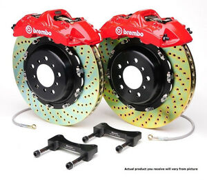 Brembo GT BBK 8pot Front for 1997-03 5-Series E39 and 2000-03 M5 E39 1G3.9012A2