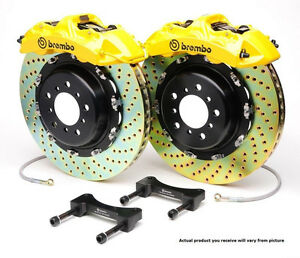 Brembo GT BBK 6pot Front for 1999-2004 996 C4 and 2006-2011 997 C4 1M3.9005A5