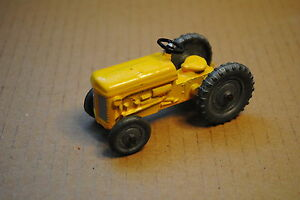 qualitoy tractor repainted in yellow