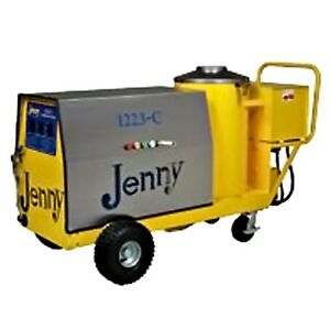Steam Jenny Oil Fired 1200 PSI  2.3GPM Pressure Washer Steam Cleaner 1223-C-OEP
