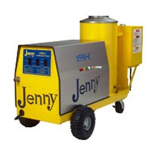 Steam Jenny Oil Fired 1500 PSI at 5 GPM Pressure Washer Steam Cleaner 1550-C-OEP