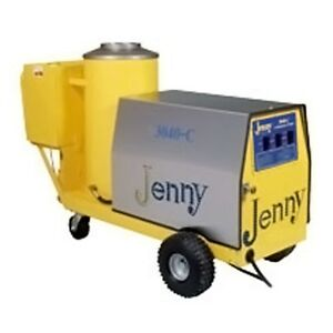 Steam Jenny Oil Fired 3000 PSI at 4 GPM Pressure Washer Steam Cleaner 3040-C-OEP