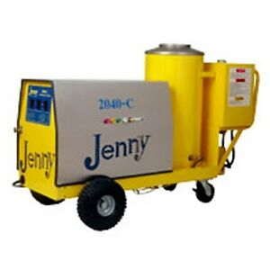 Steam Jenny Oil Fired 2000 PSI at 4 GPM Pressure Washer Steam Cleaner 2040-C-OEP