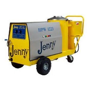 Steam Jenny Oil Fired 1200 PSI at 2.3 GPM Hot Pressure Washer - HPW-1223-OEP
