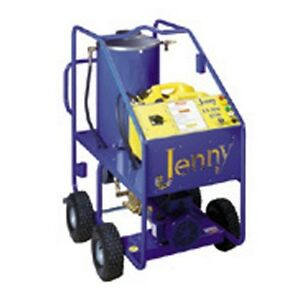 Steam Jenny Oil Fired 1500 PSI at 3 GPM Hot Pressure Washer - ELHW-1530-OEP