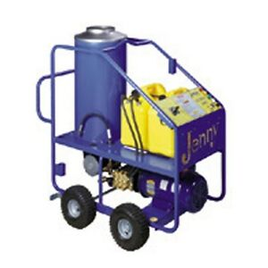 Steam Jenny Oil Fired 2000PSI at 4.2GPM Hot Pressure Washer - ELHW-2042-OEP